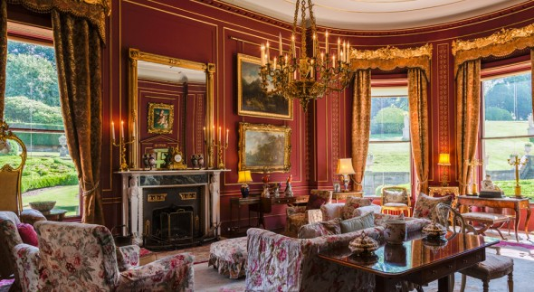 Broughton Hall, Red Drawing Room