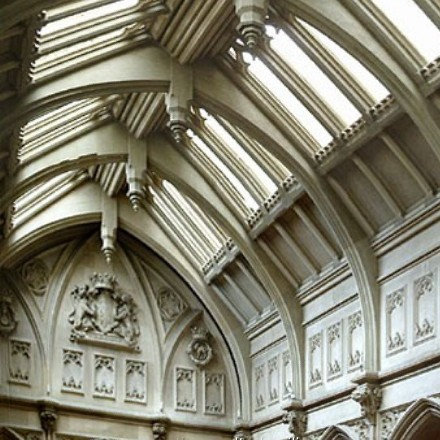 Highclere Castle - glazed gothic vaults
