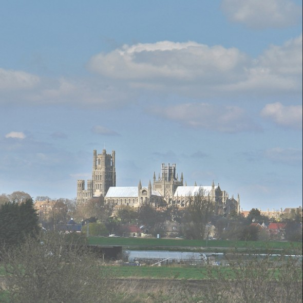 Cromwell House - unparalleled views of Ely Cathedral