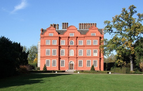Kew Palace - the 'smallest' English royal palace.