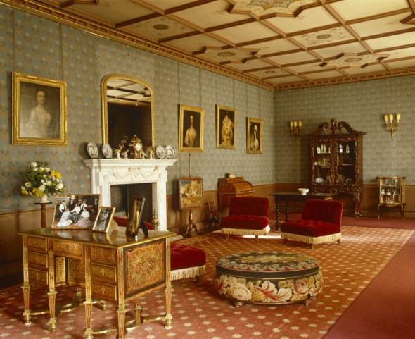 Oxburgh Hall - splendid rooms