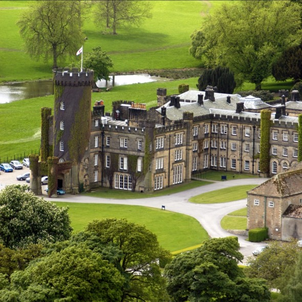 Swinton Park - aerial view