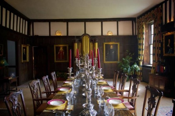 Boxted Hall - dining room