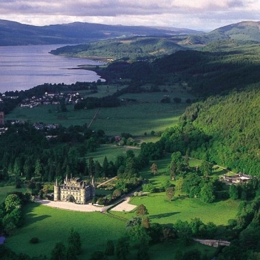 Inverary Castle in Scotland