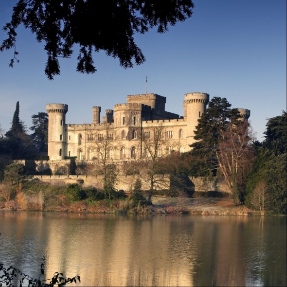 Eastnor Castle - lake