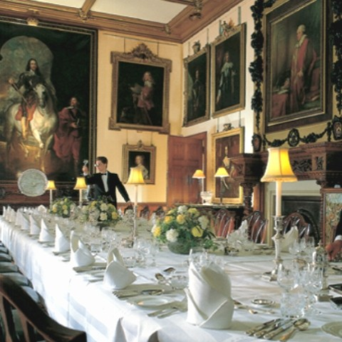 Highclere Castle dining room