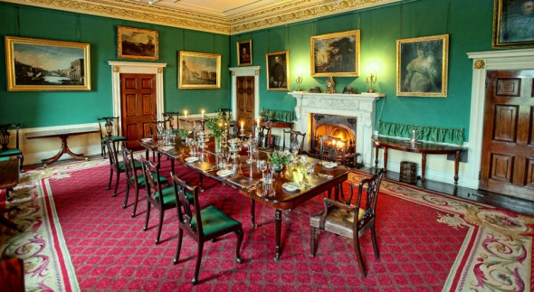 Broughton Hall, Dining Room