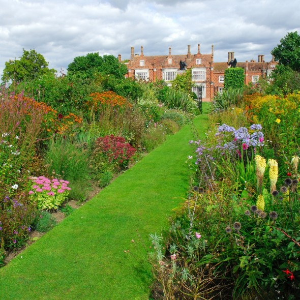 Helmingham Hall - beautiful gardens